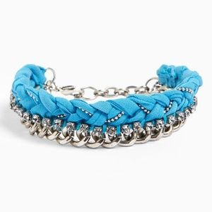 NORDSTROM MISSING PIECE Crystal Fabric Bracelet It